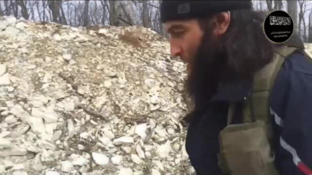 "Амир Абу Мухаммад: обучающее видео ""Как строить блиндаж"""