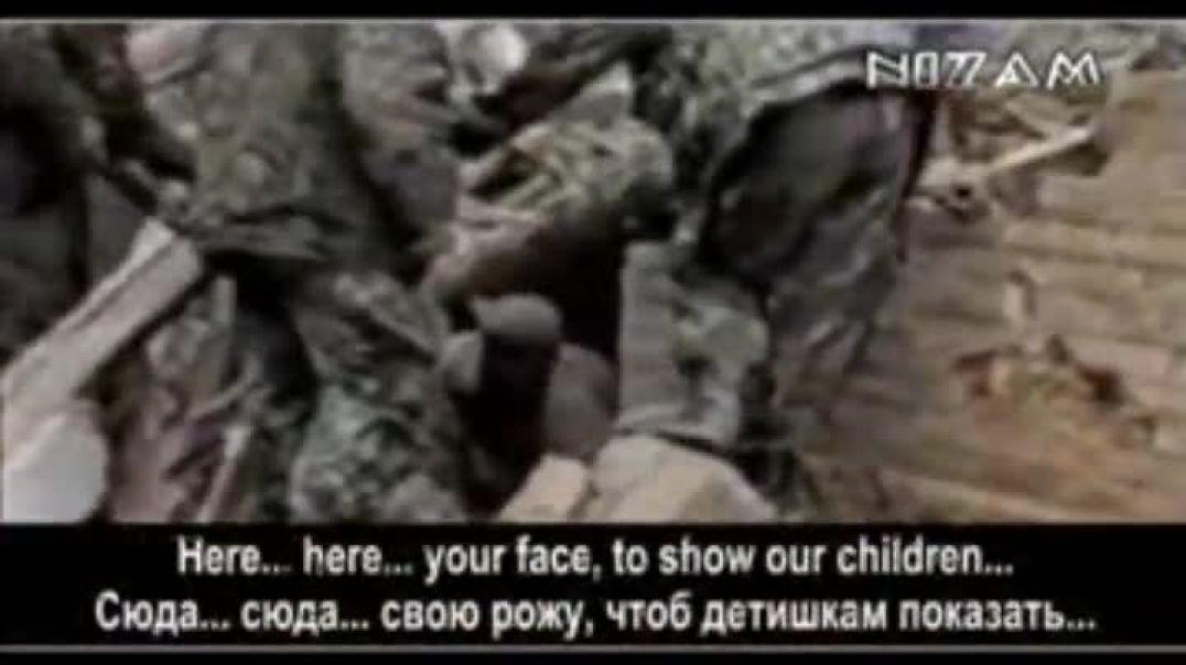 Уничтожение села Комсомольское. Чечня.