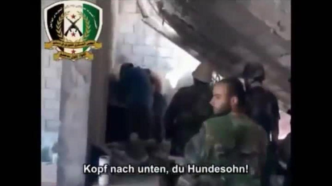 Хроники Сирийской войны. Асадиты убивают мирных жителей