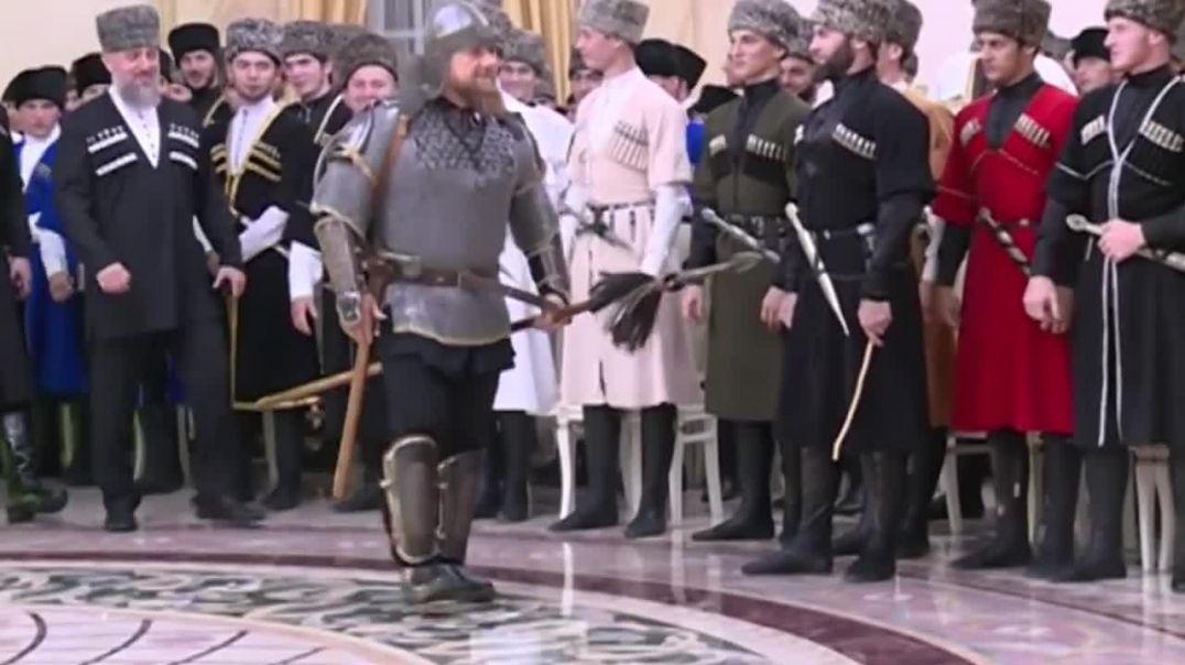 Кадыров с народам – Кадыров с Путиным.