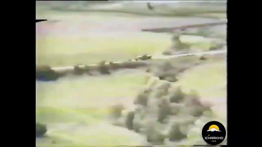 Разгром колонны российских оккупантов под Ярыш-Марды 16 апреля 1996 года.