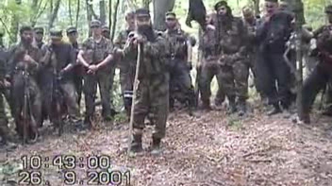 Сбор Муджахидов в Чечне 2001 год.