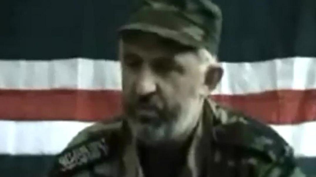 Халид Масхадов  ( رحمه الله ) - Мы сопротивление не прекратим никогда!