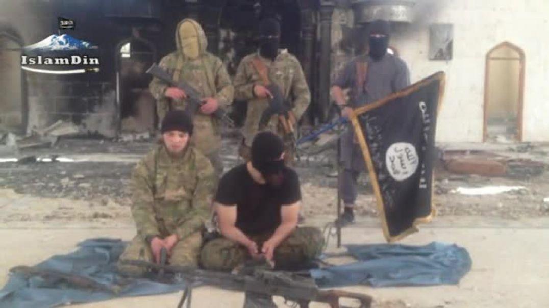Слова назидания и поддержки братьям в ИК от муджахидов КБК Имарата Кавказ сражающихся в Шаме (Сирии)