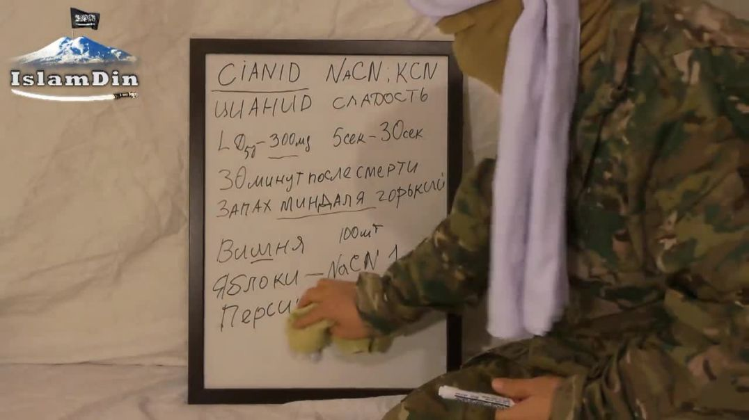 "Уроки Джихада для новобранцев: Урок 25. Производство яда ""Цианин""."