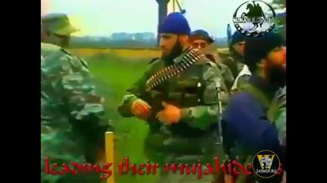 """Шамиль Басаев: """"Джихад продолжается, инша Аллах1, мы дадим отпор агрессору """". 1999 г."""