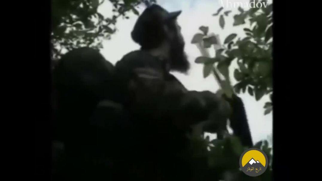 Чечня. Боевое столкновение Муджахидов с русскими кафирами.