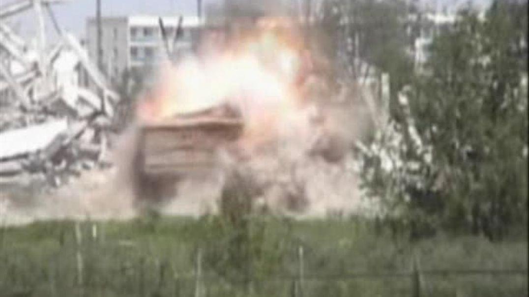 Пoдрыв оккупантoв Чечне.  Гудермес 20 август 2006г