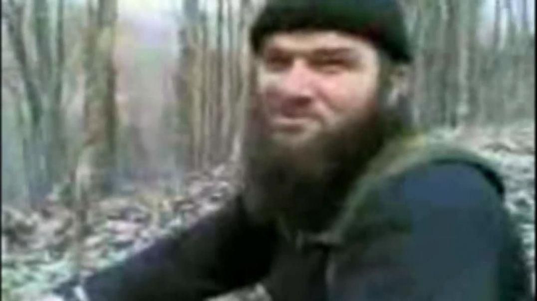 Шамиль Абу Идрис и Докку Абу Усман в горах Чечни.