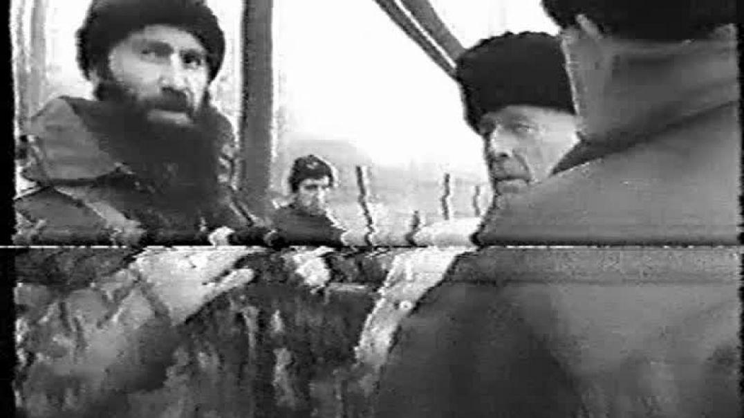 Шамиль Басаев вместе с Муджахидами пытаются выявить агентов русни. (Чечня 1999-2000гг)