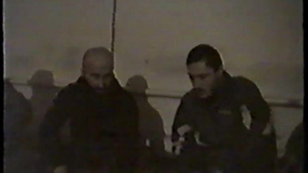 Муджахиды в Грозном. декабрь 1999 год