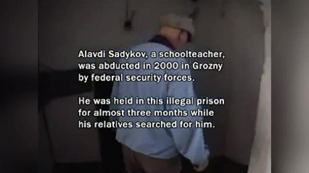 Тюрма, где «освободители» из РФ пытали и убивали жителей Чечни.