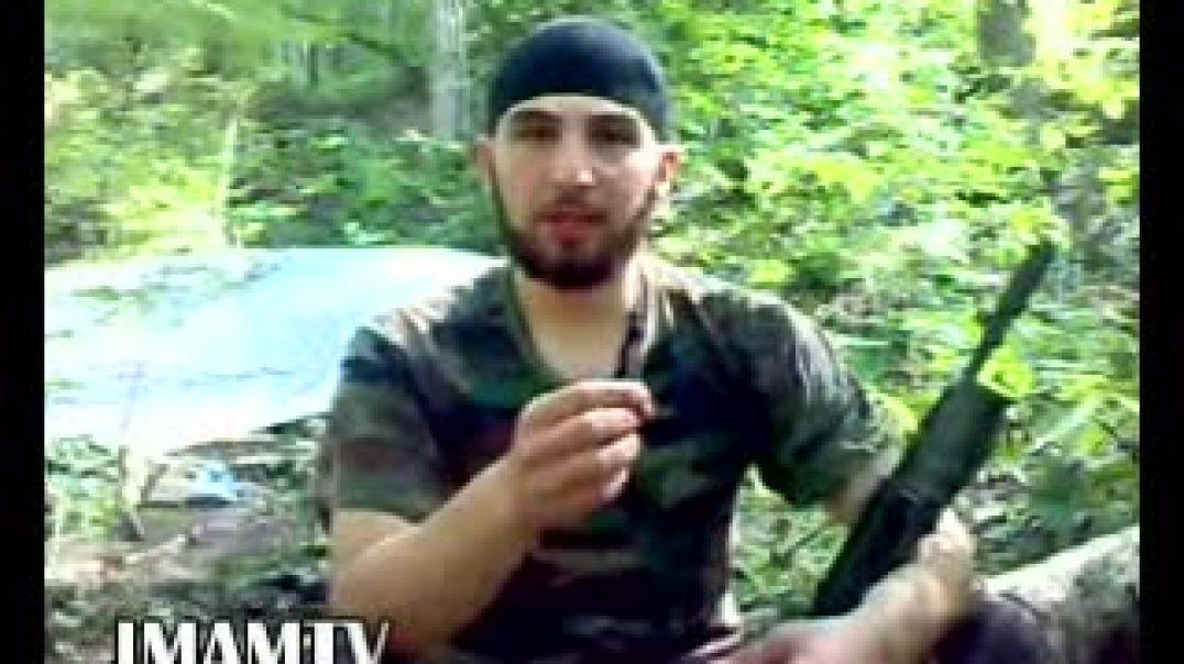 Обращение Рустам Мухадиев к мусульманам, на чеченском языке.