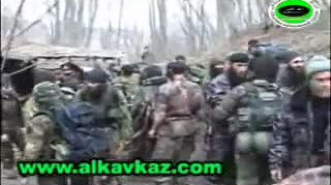 Сбор муджахидов перед боем в районе села Гордали (ЧР Ичкерия 2007)