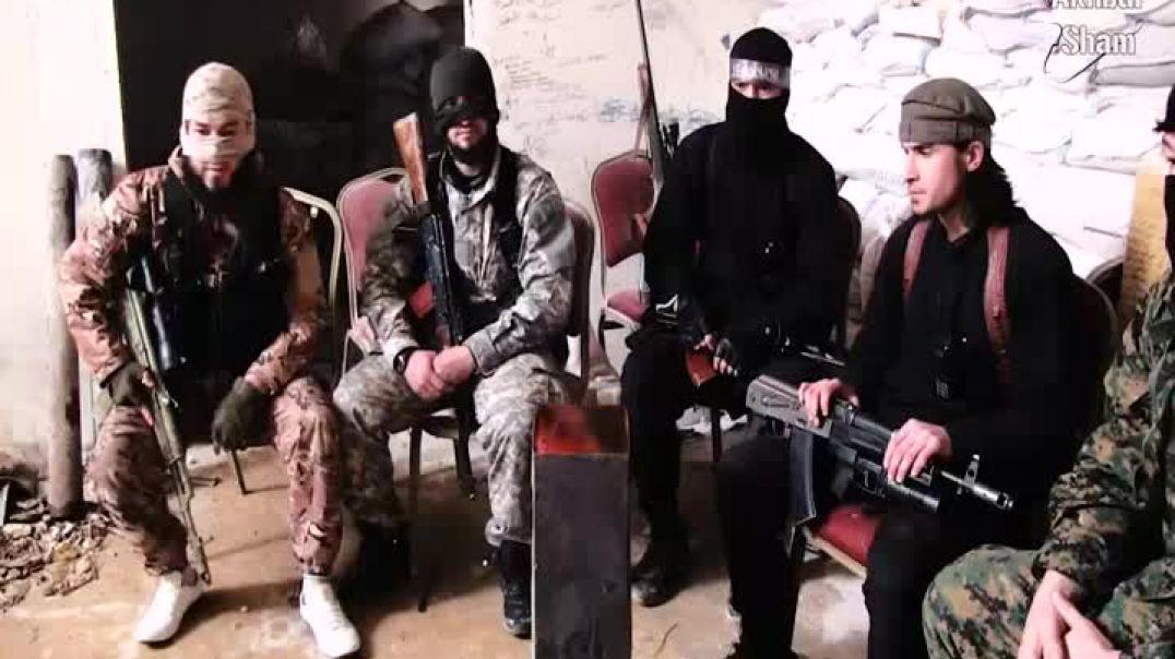 Обращение муджахидов Ногайская степь Имарата Кавказ в составе Джейш аль-Мухаджирин вал Ансар