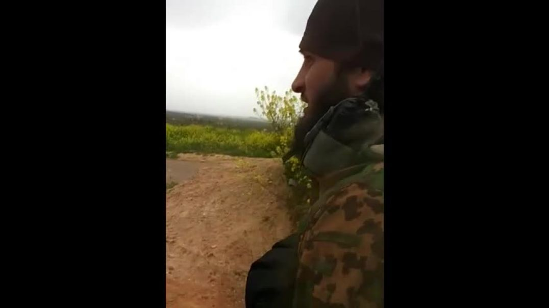 Аджнад Аль Кавказ Шествие в освобожденном Идлибе