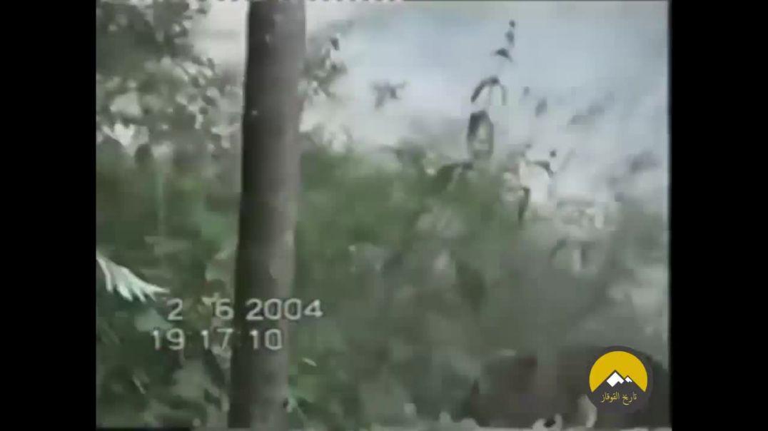 Атака моджахедов на колонну русских кафиров в Аргунском ущелье. Чечня.