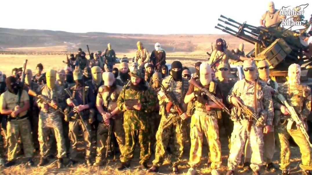 Амир Салахуддин аш-Шишани и муджахиды Имарата Кавказ в Шаме дали байат Амиру ИК Абу-Усману Гимринск