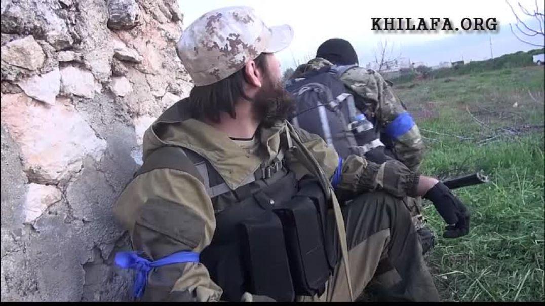 Аджнад Аль-Кавказ. 2 день боев за освобождение г.Идлиба