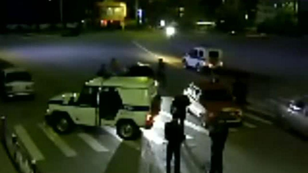 Обстрел муртаддов в Избербаше. Вилаят Дагестан. 9 май 2012 год