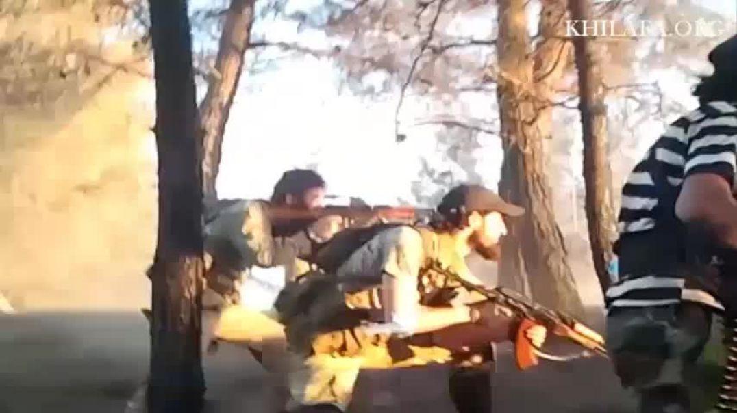 Аджнад Аль-Кавказ. Бой в лесу Басанкуль