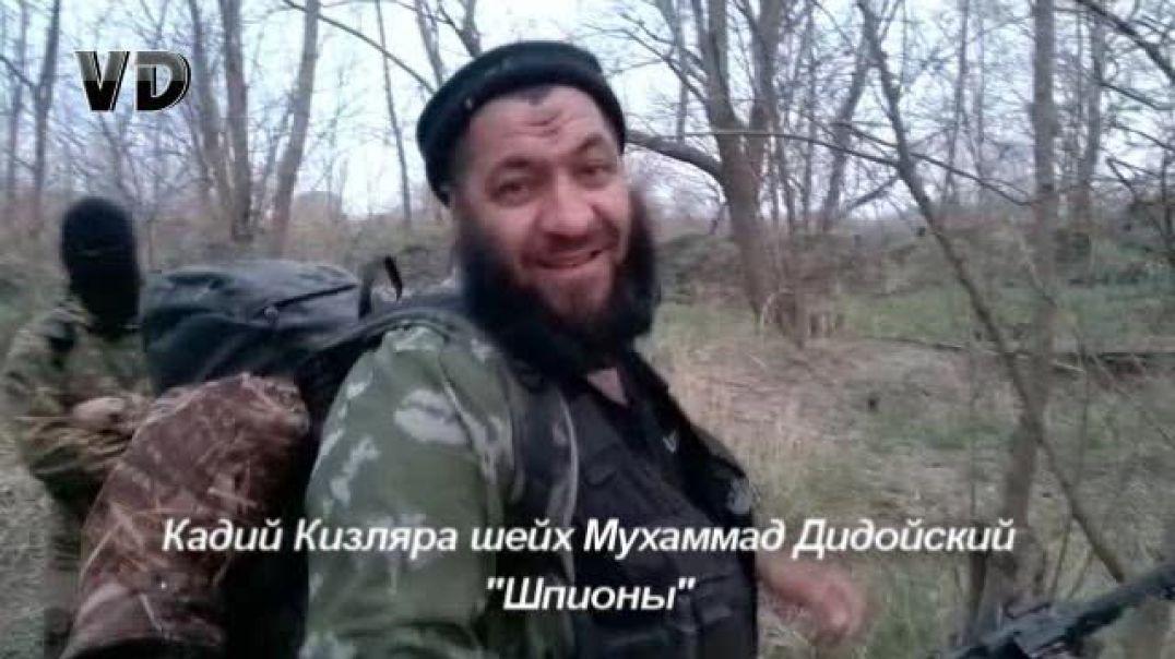 Кадий Кизляра шейх Мухаммад Дидойский «Шпионы»