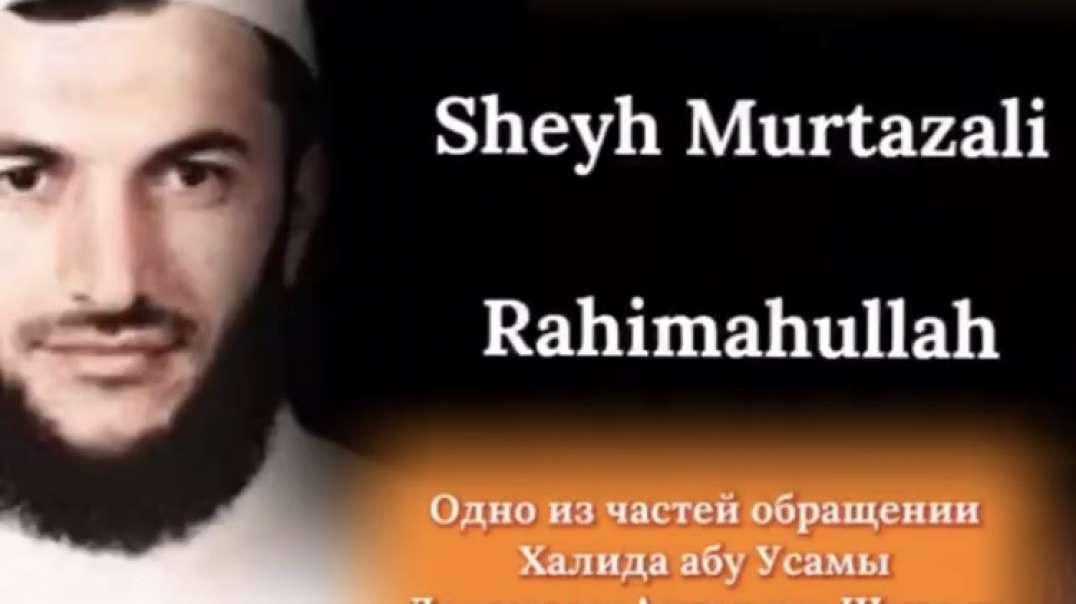 Халид Абу Усама про Муртазали «да примет Аллагь ихнюю Шагьаду»