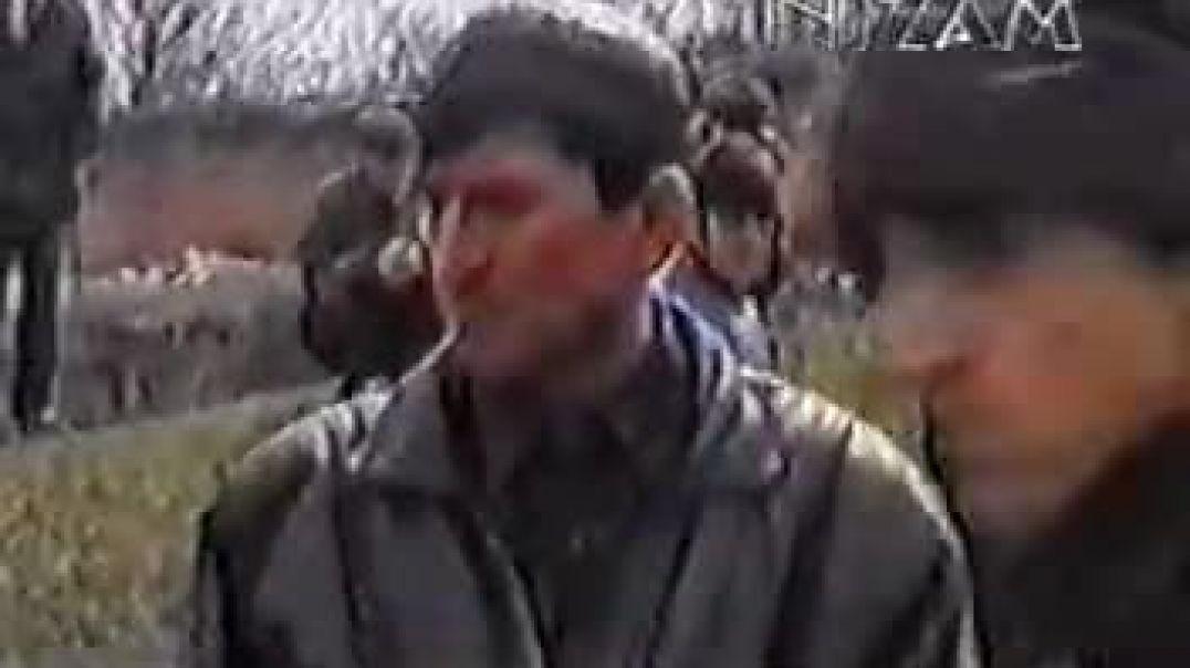 Подрыв росс. оккупантами чеченских подростков в городе Грозном. март 2001 г