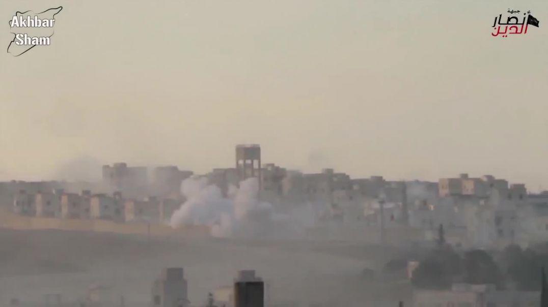 Джейш аль-Мухаджирин вал Ансар: Бой за Нубуль и Захра
