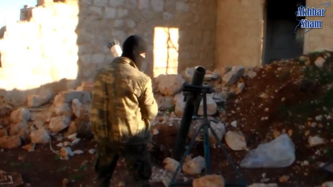 ДМА: Результат штурма 17-го дома на  подступах к базе асадитов аю в Баллермоне (Лерамоне) 2014 год.