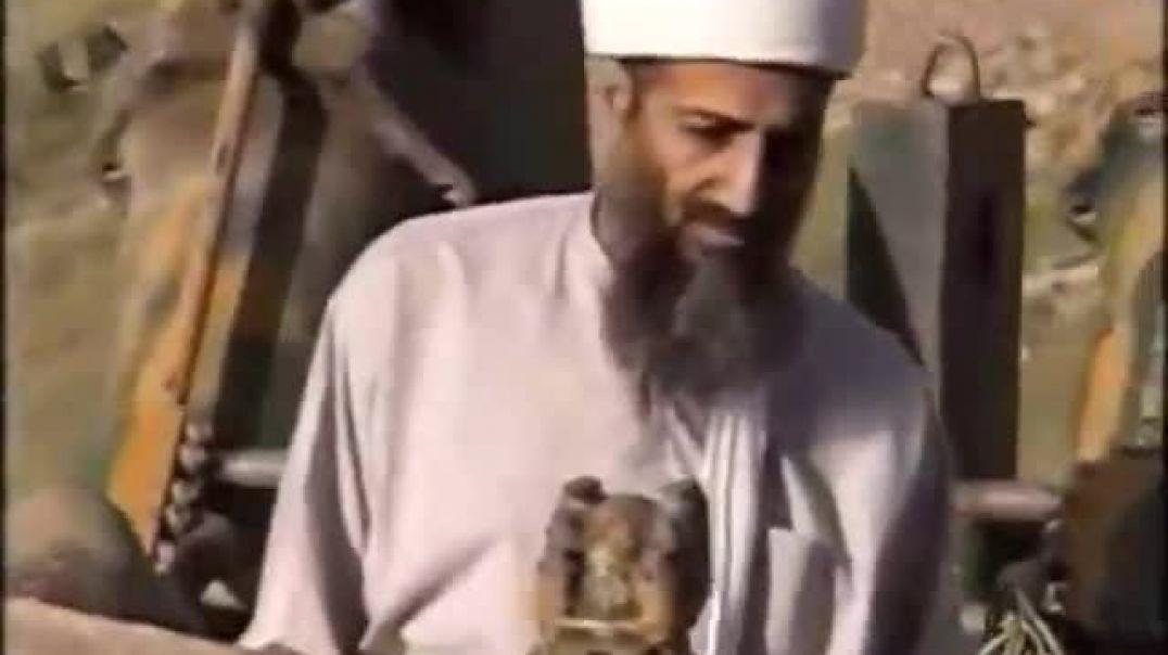فيديو يظهر الشيخ اسامة بن لادن في مقابلة 1998