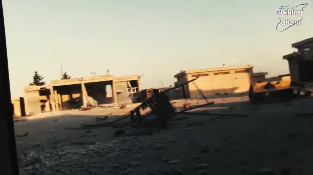 Окрестности центральной тюрьмы Алеппо. Село Джубейлян. Контратака!