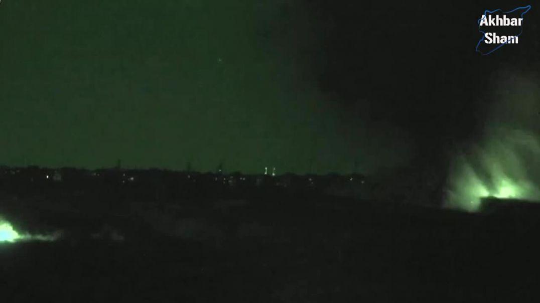 ДМА, прорыли туннель и подорвали здание с кафирами в Лерамоне. (12 июля 2014 года)