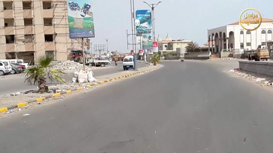 عملية استشهادية على تجمع للحوثيين في مدينة الحديدة
