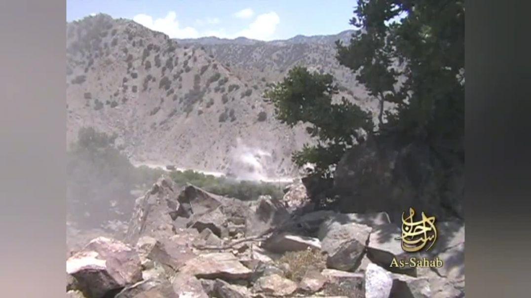 Засада на колонну муртадов в Афганистане    كمين علي قافلة للمرتدين بافغانستان