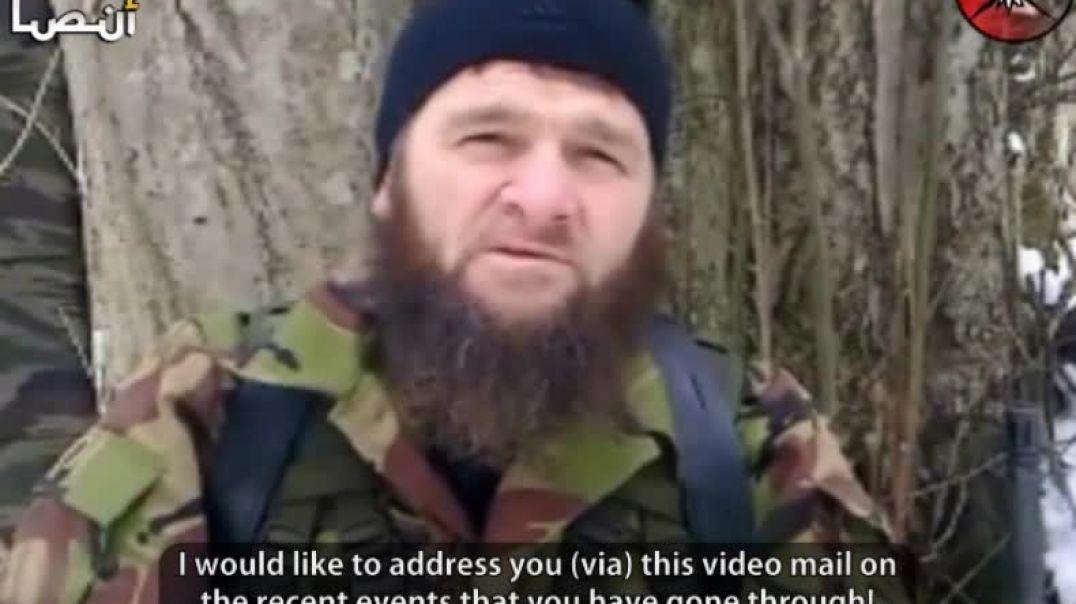 "Amir Emirate Caucasus Dokku Abu Usman: ""Message to the Muslims of Egypt and Tunisia"""