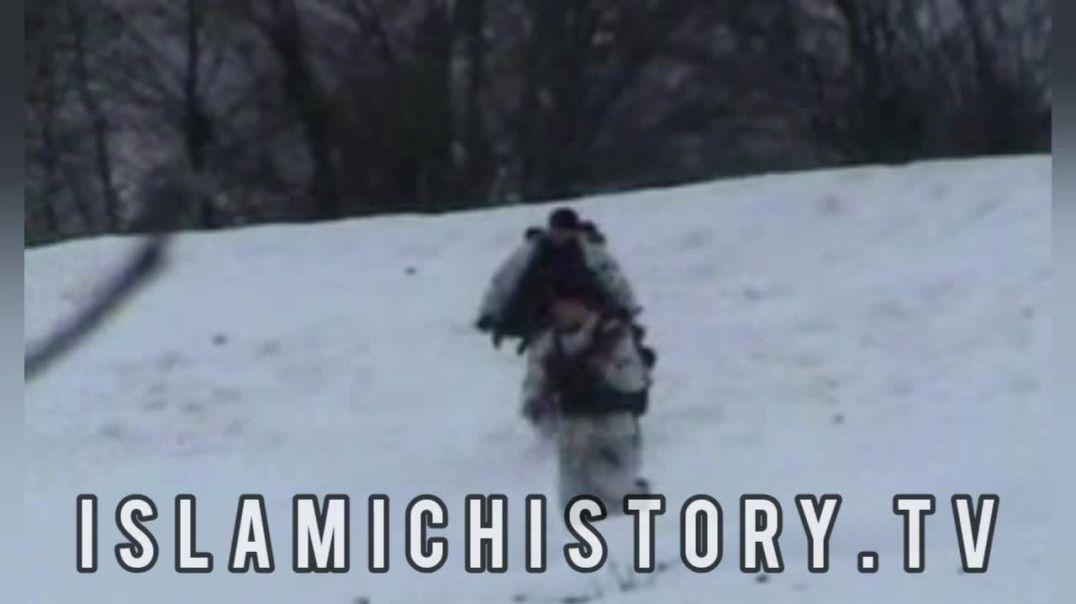 Удар моджахедов Чечни по спецназу ГРУ Русни  ||  The attack of the Chechen mujahideen.